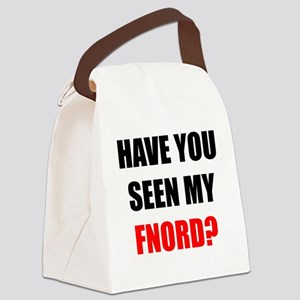 FNORD_10x10_apparel copy Canvas Lunch Bag